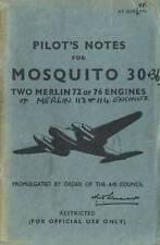 DE HAVILLAND MOSQUITO 30 & 36 PILOT'S NOTES AP 2653K&P