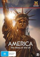 America - The Story Of The US (DVD, 2011, 3-Disc Set)