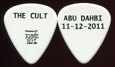 The Cult 2011 Weapon Tour Guitar Pick! custom concert stage Pick Abu Dahbi