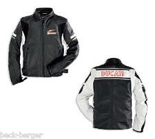 Ducati Dainese Eagle Meccanica Retro Leather Jacket Jacket New