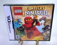 Lego Battles Ninjago Nintendo DS 2011 Video Game NEW