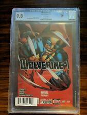 Wolverine Vol 5 CGC 9.8 1A 2013 Davis Variant NM Dynamic Forces