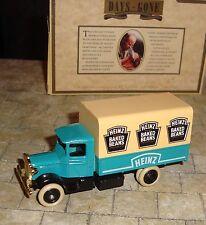 LLEDO -  DAYS GONE - 1934 MACK CANVAS BACK TRUCK - HEINZ OVEN BAKED BEANS - BOXD