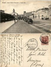 Verona, corso Vittorio Emanuele e porta BRA', animata, viaggiata 1918