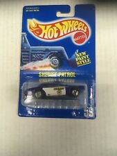 Hot Wheels Sheriff Patrol Blue With Speed Points