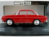 WhiteBox WB274 VW 1600 L Limousine (1970) in dunkelrot 1:43 NEU/OVP