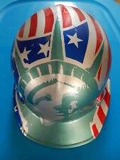 Hard Hat/Helmet, We'll Always Remember September 11, 2001 Let Freedom Ring