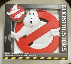 GHOSTBUSTERS 3D DESK LAMP / WALL LIGHT USB / BATTERY POWERED (BRAND NEW IN BOX)
