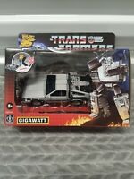 Transformers Gigawatt Back to the Future Mash-Up 35th Anniversary Fast Shipping