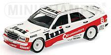 Mercedes 190 E 2,3-16 DTM 1986 V. Weidler #8 Commodore lui 1:43 Minichamps