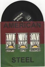 "American Steel ""Every New Morning"" 7"" EX OOP Propagandhi Nofx Misfits AFI"