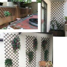 150cm Lattice Telescopic Wood Fence Wedding Party Wall Decor Garden Frame Fence
