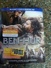 Ben-Hur (Blu-Ray DVD Digital 3 Disc) with Bonus Disc Slip Cover NEW 032429262455