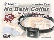 Dogtra YS300 bark activated no-bark collar small to medium dogs