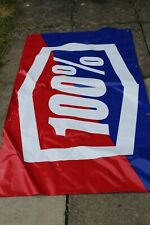 100% Percent Race Day Banner