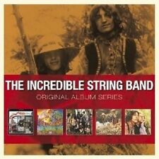 "THE INCREDIBLE STRING BAND ""ORIGINAL ALBUM SERIES"" 5 CD NEUF"