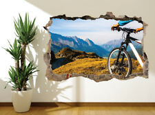 Mountain Biking Extreme sports wall sticker wall mural (17952703) Outdoor sports