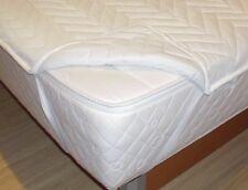 Schonbezug für Wasserbett Spannauflage Wasserbettauflage 200x200 Auflage
