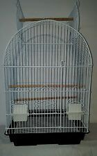 NEW MEDIUM OPEN TOP 4 PARROT AMAZONS COCKTELS INDIAN RING NICK LOVEBIRD CAGE 710