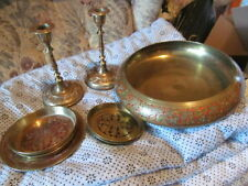 Arts & Crafts Ornaments Original Collectable Brass Metalware