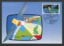 Federal Mk 1986 TV-sat satélite espacial Space Carte maximum card mc cm d7859