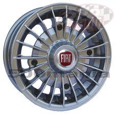 """SERIE (4 pz) CERCHI IN LEGA FIAT 500 F e FIAT 500 L - 4,5J X 12"""" - SUPER LOOK"""