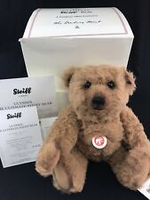 Ultimate Steiff Teddy Bear Ulysses, EAN 681820 Brown, 32cm, Limited Edition