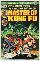 Special Marvel Edition #15 Master of Kung Fu Hands Shang-Chi