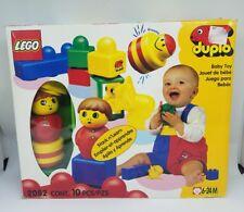 LEGO DUPLO 10 X pierre 2x4 Jaune