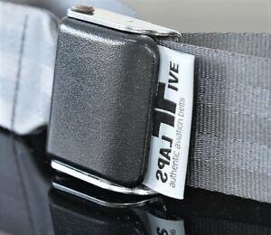 Traktionsgurt Fixiergurt Davis Aviation Gurtschnalle feinste Qualität Storm Grey