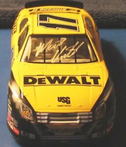 Signed Nascar 1:24 Scale 2007 Matt Kenseth Ford Fusion #17 Dewalt Car