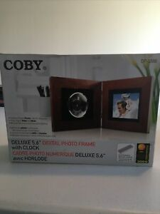 "New Coby DP-5588 5.6"" Digital Picture Frame"