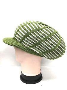 Striped Knitted Knit DreadLocks Cap Tam Hat Africa Jamaica Rasta Rastafari