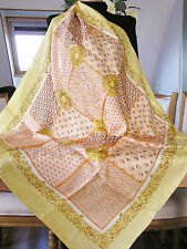 Foulard/Carré/Chale★En soie 100%  hand rolled -Made in Italy 54g★Silk SCARF