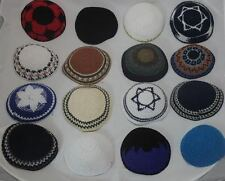 Beautiful Set of 16 Yamaka Kipot Shabbat Yarmulke Kippah Jewish Cheap Lot 16
