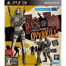 Used PS3 The House of the Dead: Overkill - Director's Cut Japan Import