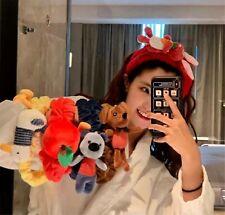 Women Spa Bath Shower Fleece Makeup Animal Face Wash Hair head band Headband