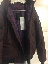 Canada Goose X Opening Ceremony Chilliwack Bomber Purple Chestnut Sz XL RARE NEW
