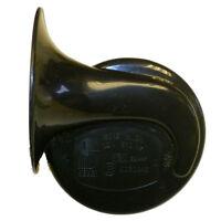 12V HIGH TONE Snail / Shell Horn – BLACK - High Quality - Loud & Legal!