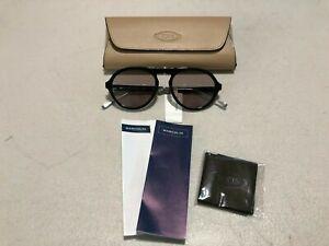 Tod's TO 221 01E Sunglasses Black w/Brown