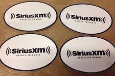 "SiriusXM Satellite Radio 6"" x 4"" Sticker Decal (Set of 4 Stickers)"