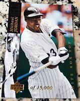 MICHAEL JORDAN 1993 Upper Deck GOLD SP 15000 Rookie Card RC Baseball WHITE SOX $