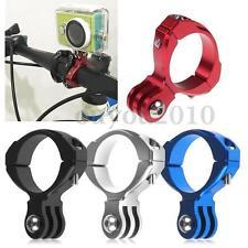 Bicycle Aluminum Handlebar Bar Clamp Mount Clip for Gopro Hero 5 4 3 3+ 2 Camera
