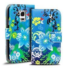 Motiv Tasche Samsung Galaxy S5 Mini Flip Case Schutz Hülle Handy Wallet Cover