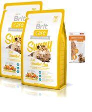 2x7kg Brit Care Cat Sunny Beautiful Hair Katzenfutter + 50g Fleischsnacks