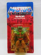 MOTU,VINTAGE,TRI-KLOPS,Masters of the Universe,MOC,carded,sealed,figure,He-Man *