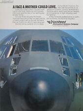 1990-93 PUB LOCKHEED AERONAUTICAL C-130 HERCULES TACTICAL AIRLIFTER ORIGINAL AD