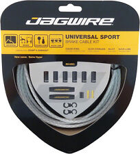JAGWIRE UNIVERSAL SPORT BRAIDED WHITE MTB BICYCLE BRAKE CABLE KIT
