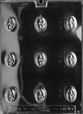 OVAL CHERRY BON-BON 1 X 1 3/8 7/8 DEEP AO102 mold molds all occasion  x