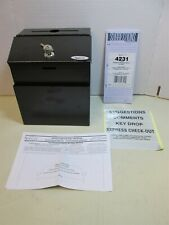Safco Products Company 4232 Steel Suggestion/ Key Drop Box with Locking Top NEW